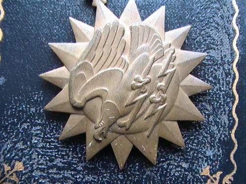 US WW2 air medal