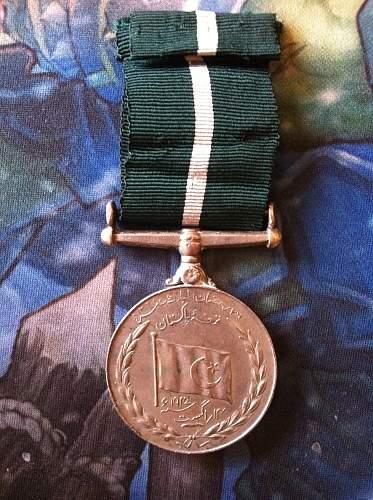 Pakistan Independence Medal