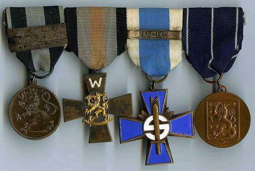 Unknown 1918 Finnish Cross