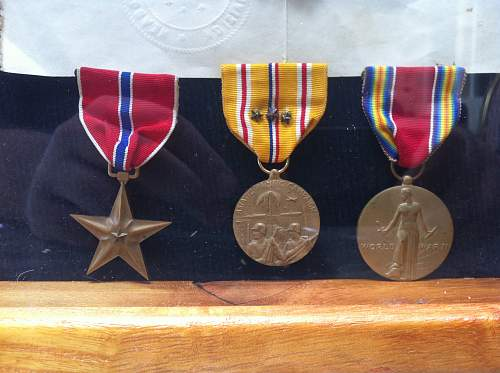 WWII Bronze Star Group