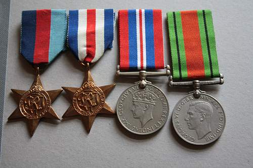 Named British WW2 medals