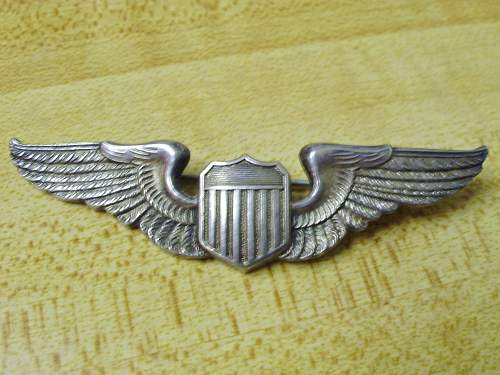"""Looking for info on number of American WWII """"Wings""""."""