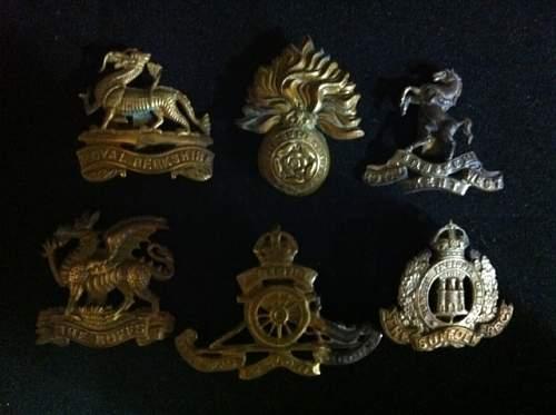 British cap badges identification