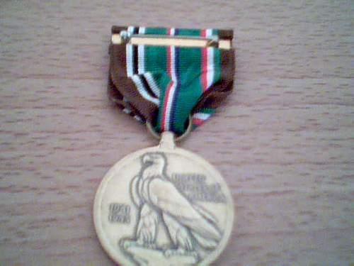 U.S. EAMEC medal
