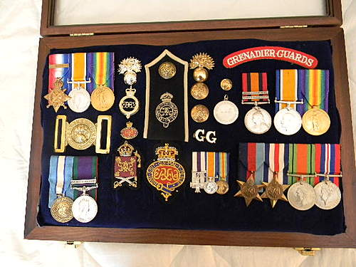 Grenadier Guards medal collection