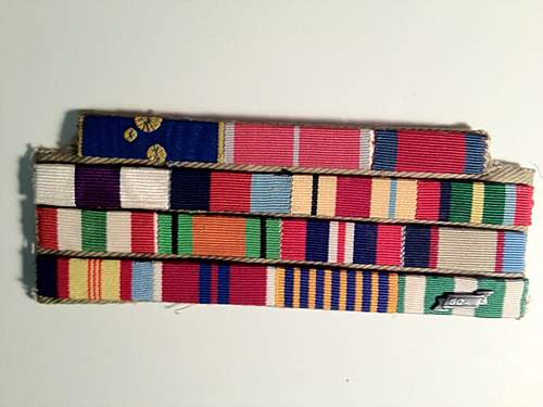 Australian Ribbon rack...need help in finding the recipient