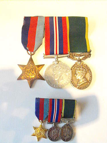 ww2 Territorial medal group