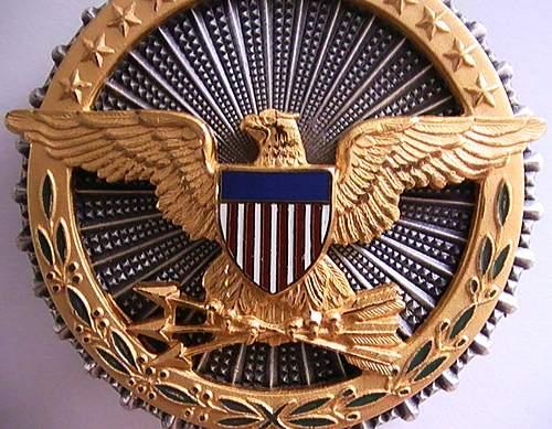 Cased Office of the Secretary of Defense Identification Badge