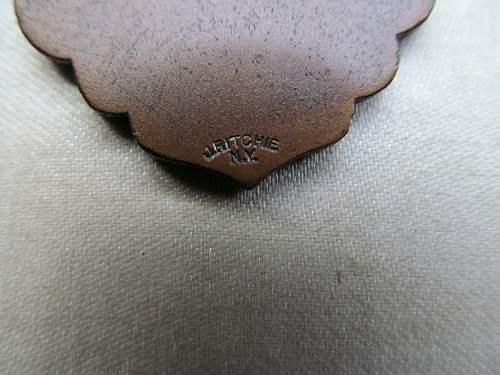 Cased 1917  U.S. Marksman medal value