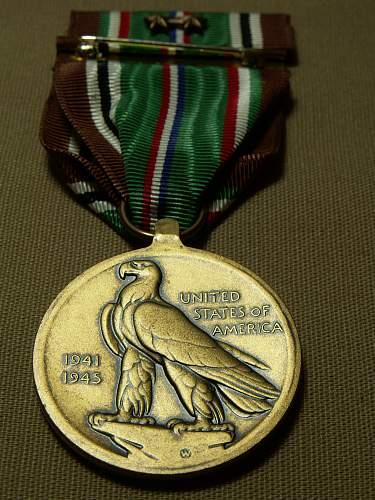 Pacific campaign medal original ?