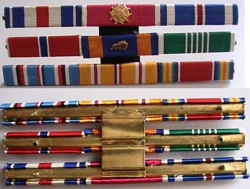 US medal ribbons & badge pick up