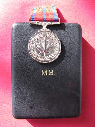 Canadain Medal of Bravery