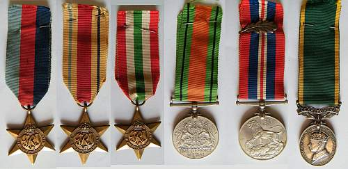 Click image for larger version.  Name:Dads WWII medals montage.jpg Views:211 Size:213.1 KB ID:465364