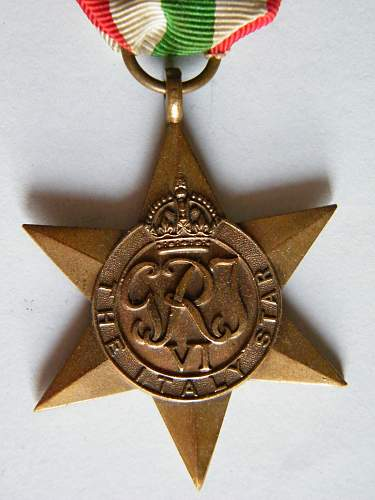 help with an Italy Star