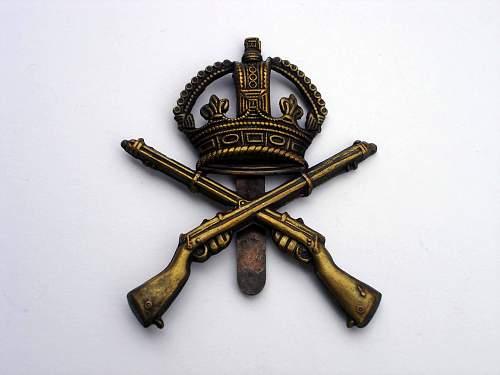 British Cap Badge - Opinions Please