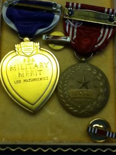 WWII Purple Heart Group