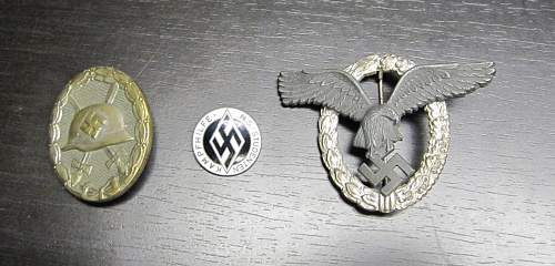 Need some help on german badges