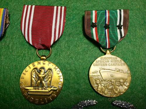 US Engraved medal Grouping PH and Bronze star