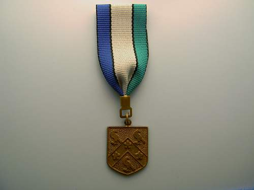 Unknown medal - do not know country of origin
