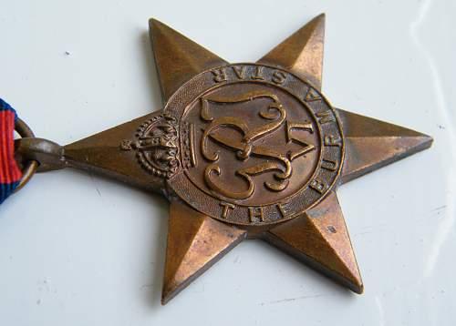 Click image for larger version.  Name:Burma Star obverse detail oblique m.jpg Views:327 Size:204.8 KB ID:515983