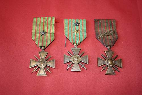 some french medals