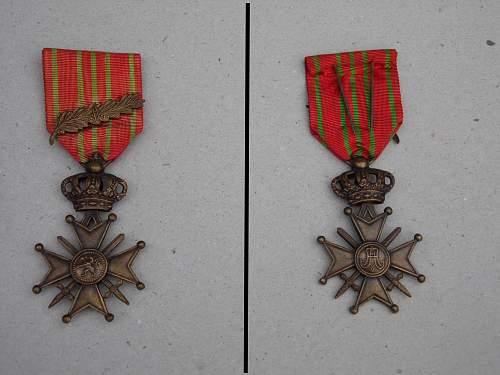 Belgian medals