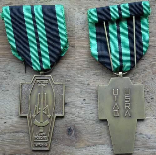 Belgian clandestine press medal