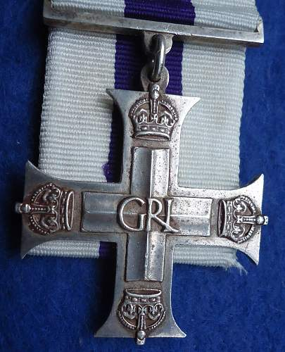 Military Cross Opinions Please