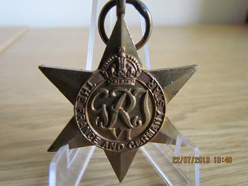 World War 2 War Stars so far!! & some others!!