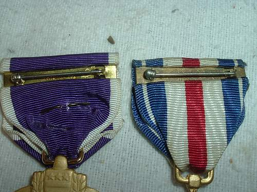 Silver Star/Purple heart Named but Unconfirmed