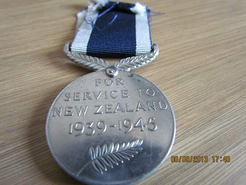 Click image for larger version.  Name:NZ War Medal WW2 (4).jpg Views:50 Size:317.1 KB ID:565195