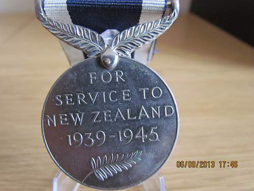Click image for larger version.  Name:NZ War Medal WW2 (2).jpg Views:68 Size:312.0 KB ID:565198