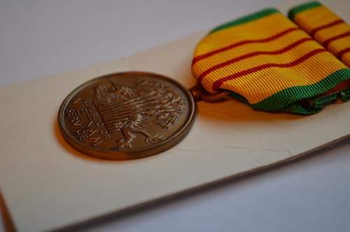 U.S. Vietnam Service Medal