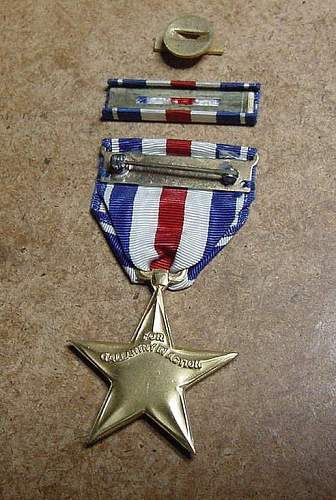 US Silver Star Medal - Latest pick up.........