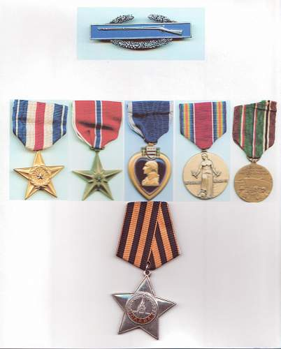 US Private, Holder of the Order of Glory