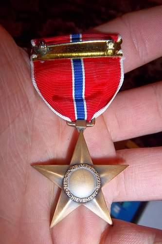 WW2 US Bronze Star