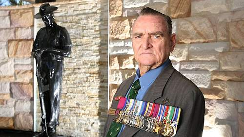Victoria Cross recipient Keith Payne