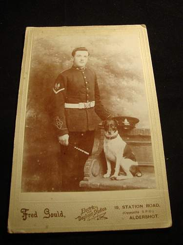 reuniting British ww1 medaille militaire recipients paperwork with medals 27240 Sgt HW Dilkes