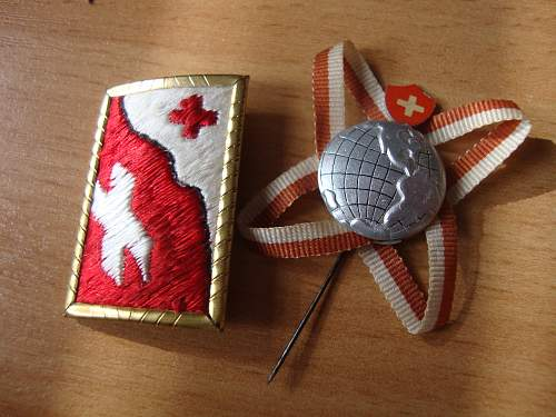 anybody have any idea about swiss badges??
