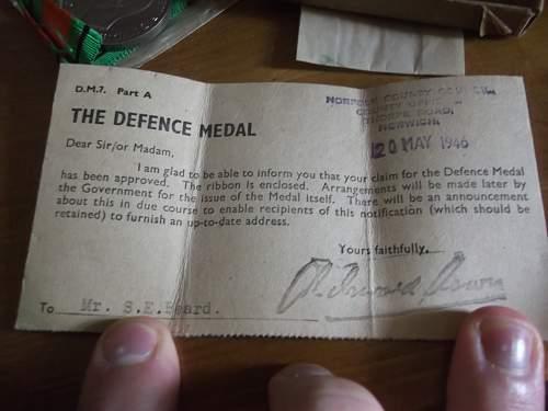 Charity Shop Defense Medal