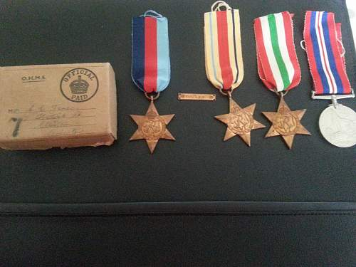 Ww2 green howards medal group and pics