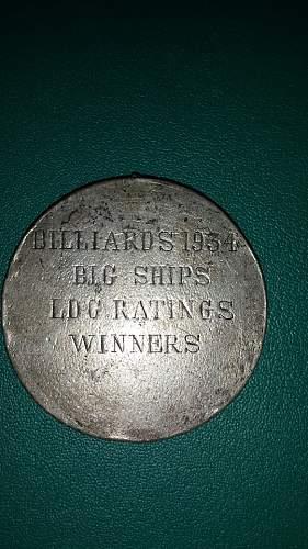 maritime billiards medalion ???