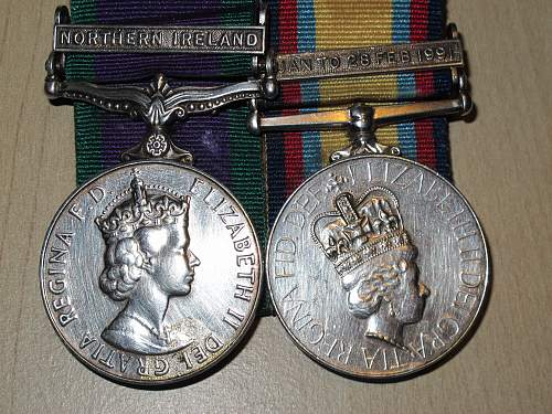 Are these British medals fakes?