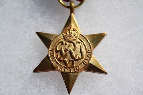 New WWII Medal is being Issues The Arctic Star