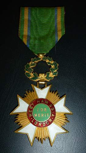 Unknown medal