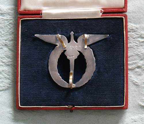 czech pilots badge made in London