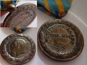 Medaille Belgique, CAMPAGNE ARABE 1892-1894,LEOPOLD-II, Belgian medal.
