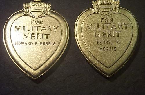 Purple Heart spanning three wars-Keeping it in the family