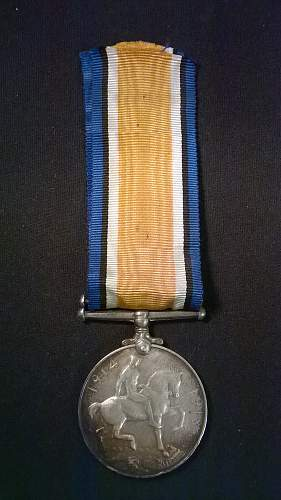 Other British medal buys.