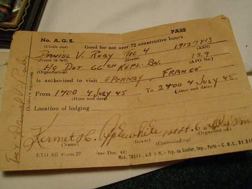 Posthumous WW2 Purple Hearts & Thier Recipient's